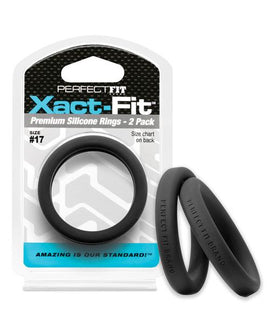 Perfect Fit Perfect Fit Xact-fit #17 2 Pk Black