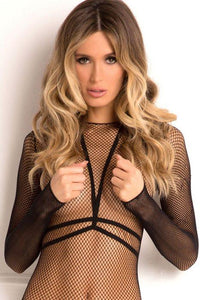 RENE ROFE Body Conversation Harness Set Black