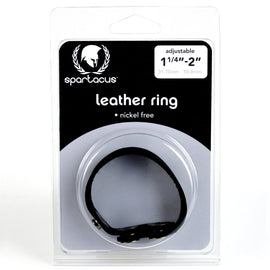 Spartacus Nickel Free Leather Cock Ring