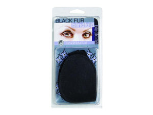Spartacus Fur Blindfold Black