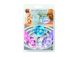 Spartacus Elastomer Set Blue Purple Pink