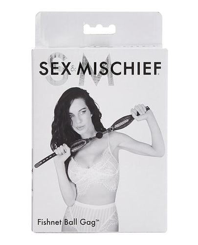 Sport Sheets Sex & Mischief Fishnet Ball Gag