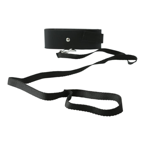 Sport Sheets Sex & Mischief Black Leash & Collar