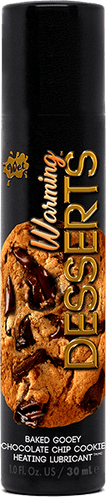 Wet Lube Wet Warming Desserts Baked Gooey Chocolate Chip Cookie 1 Oz
