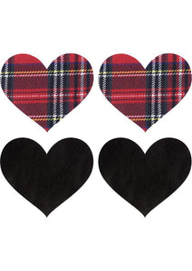 X-Gen Products Pasties School Girl Hearts