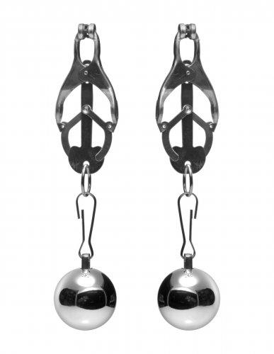 XR Brands Master Series Deviant Monarch Nipple Clamps