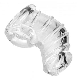XR Brands Master Series Detained Chastity Cage