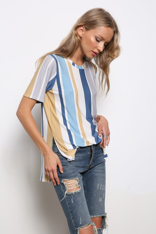 Striped Sister Top