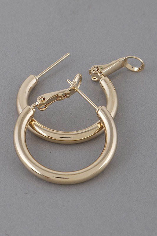 Big Loop Earrings