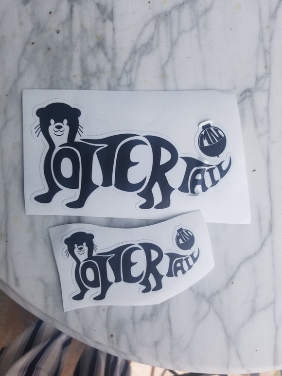 Bobber the Otter Sticker-Small
