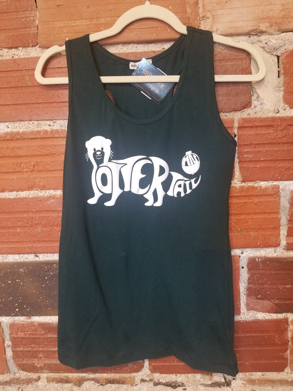 Bobber the Otter Tank-Dark Green
