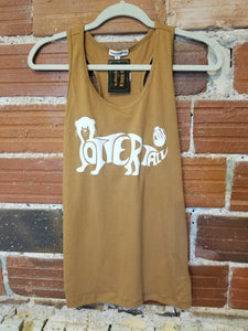 Bobber the Otter Tank-Coffee
