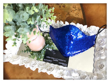 Load image into Gallery viewer, Royal blue sequin