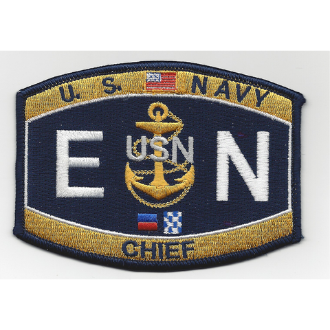 EN Chief Engineman Navy Rating Patch
