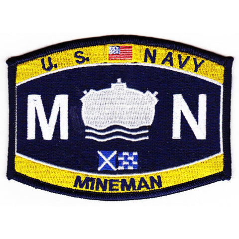 MN - Mineman Navy Rating Patch