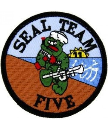 US Navy SEAL TEAM 5 FIVE Patch - Version A