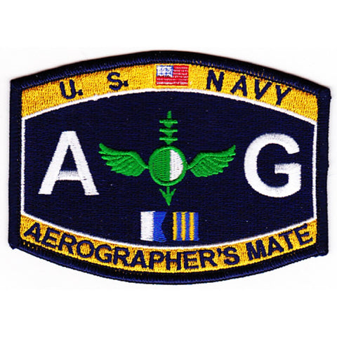 AG - Aviation Aerographer's Mate Navy Rating Patch