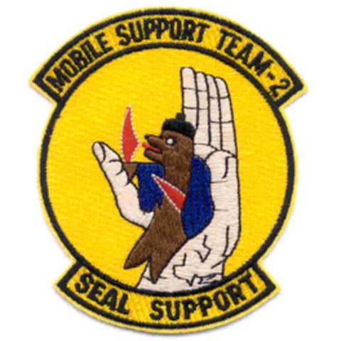 MST-2 Mobile Support Team Two Patch - Seal Support