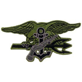 United States NAVY SEAL Trident Patch - Subdued
