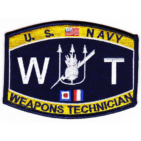 WT - Weapon Technician Navy Rating Patch