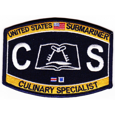 CS - Culinary Specialist Submariner Rating Patch