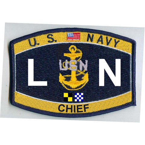 LNC - Chief Legalman Navy Rating Patch