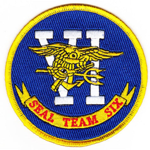 US Navy SEAL TEAM 6 Seal Team Six Patch