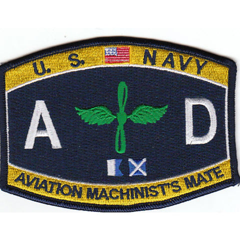 AD - Aviation Machinist Mate Navy Rating Patch