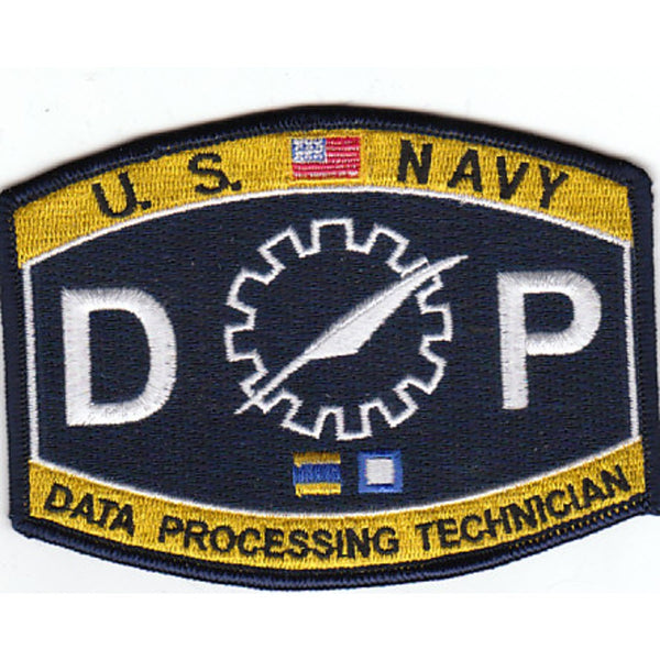 DP - Data Processing Technician Navy Rating Patch – USNavyPatch.COM