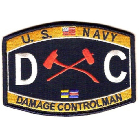 DC - Damage Controlman Navy Rating Patch