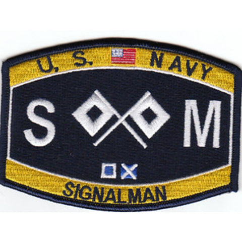 SM - Signalman Navy Rating Patch