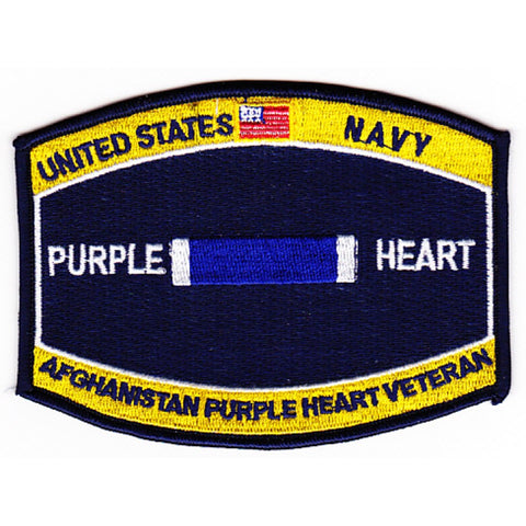 Combat Wounded Rating Badge Of Military Merit Purple Heart Patch Afghanistan Veteran Patch