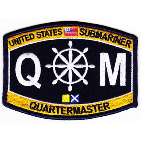 QM - Quartermaster Submariner Rating Patch