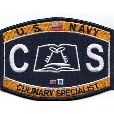 CS - Culinary Specialist Navy Rating Patch