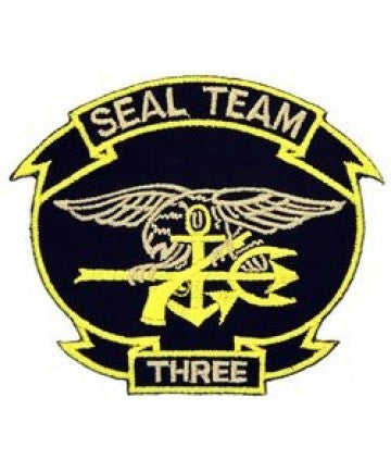 US Navy SEAL TEAM 3 Three Patch