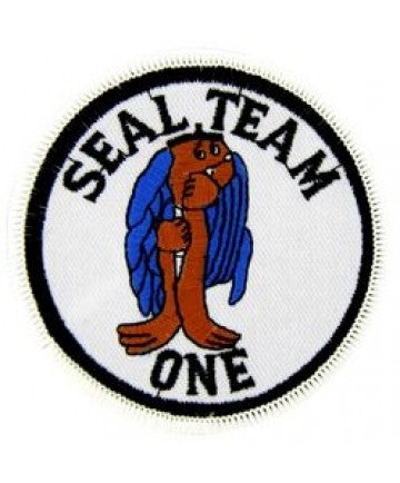 US Navy SEAL TEAM 1 ONE PATCH
