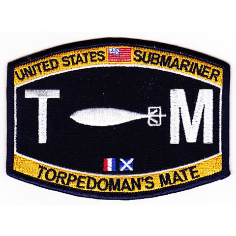 TM - Torpedo's Mate Submariner Rating Patch
