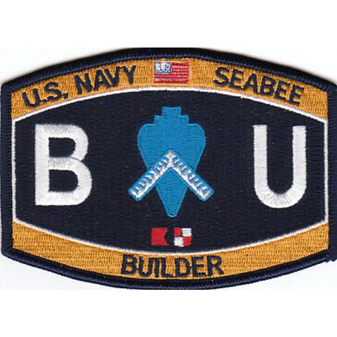 BU - Builder Navy Seabee Rating Patch