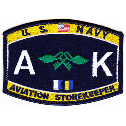 AK - Aviation Storekeeper Navy Rating Patch