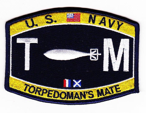 TM - Torpedoman's Mate Navy Rating Patch