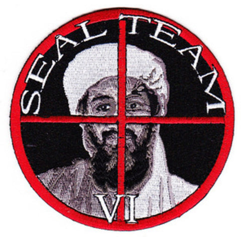 Seal Team IV Osama Bin Laden Target Patch