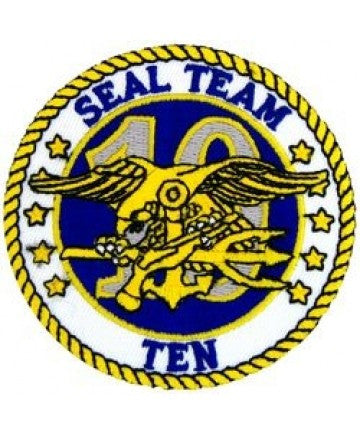 US Navy SEAL TEAM 10 TEN Patch