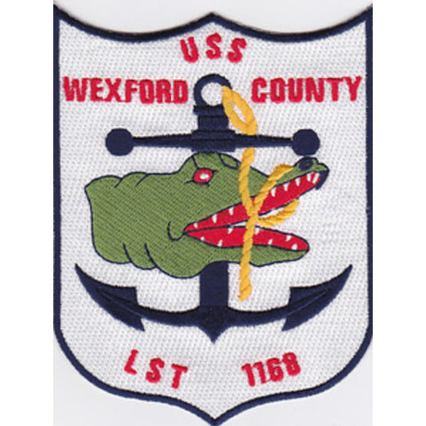 LST-1168 Patch USS Wexford County