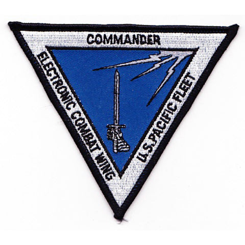 Commander Electronic Combat Wing US Pacific Fleet Patch