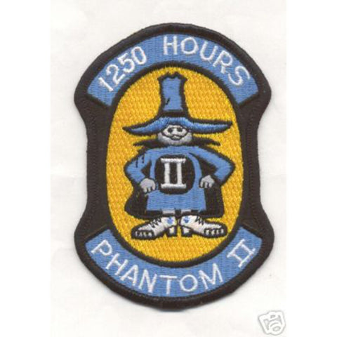 F-4 Phantom II 1250 Hours Patch