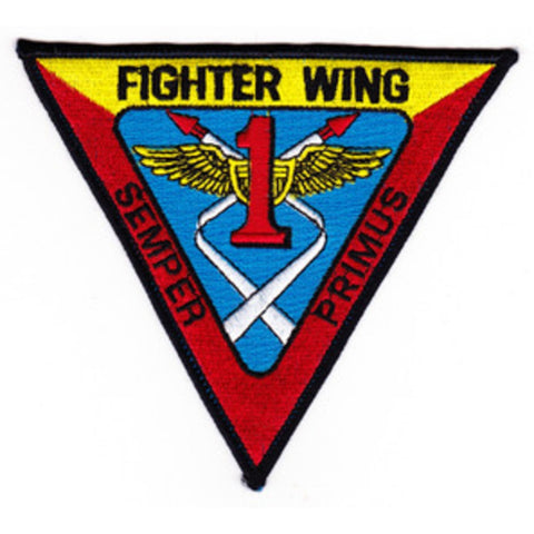 FIGHTER WING 1 US NAVY Military Patch SEMPER PRIMUS Pacific