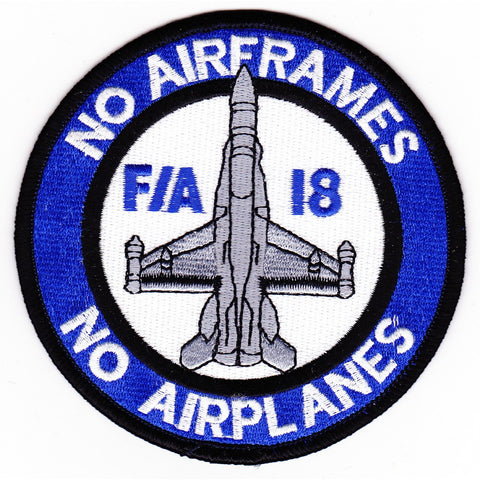 F/A 18 Hornet Airframes Patch