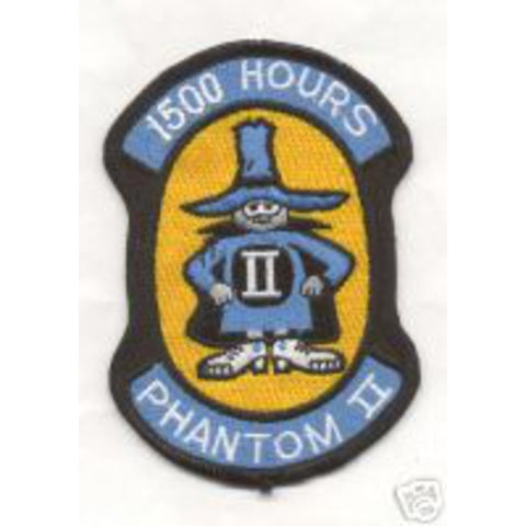 F-4 Phantom II 1500 Hours Patch