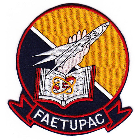 Faetupac Fleet Airborne Electronics Training Unit Pacific Fleet Patch