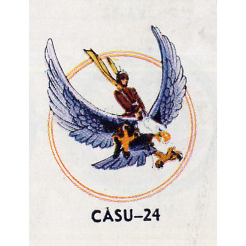 CASU-24 Carrier Aircraft Service Units Patch